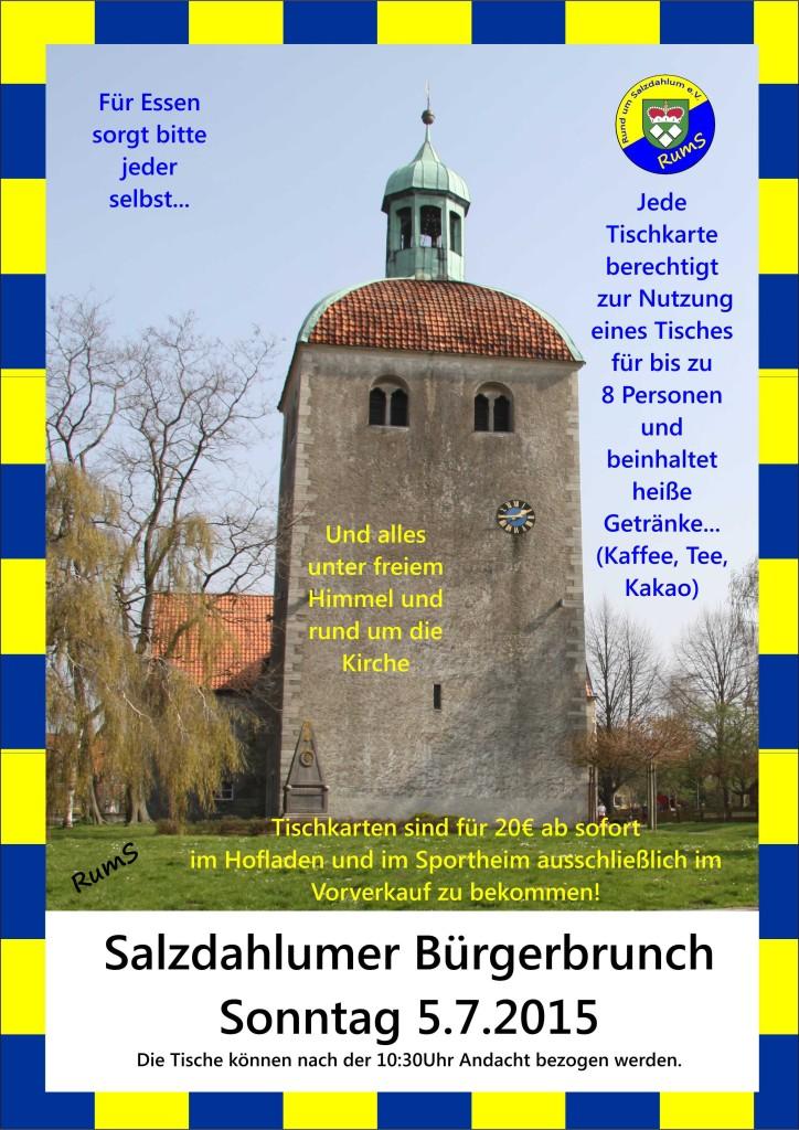 Salzdahlumer Bürgerbrunch 2015